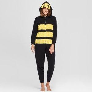 Women's Bee Onesie Pajamas